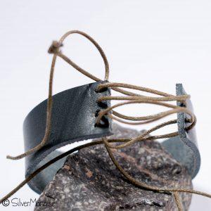 Servettring av läder - SilverMaria04021