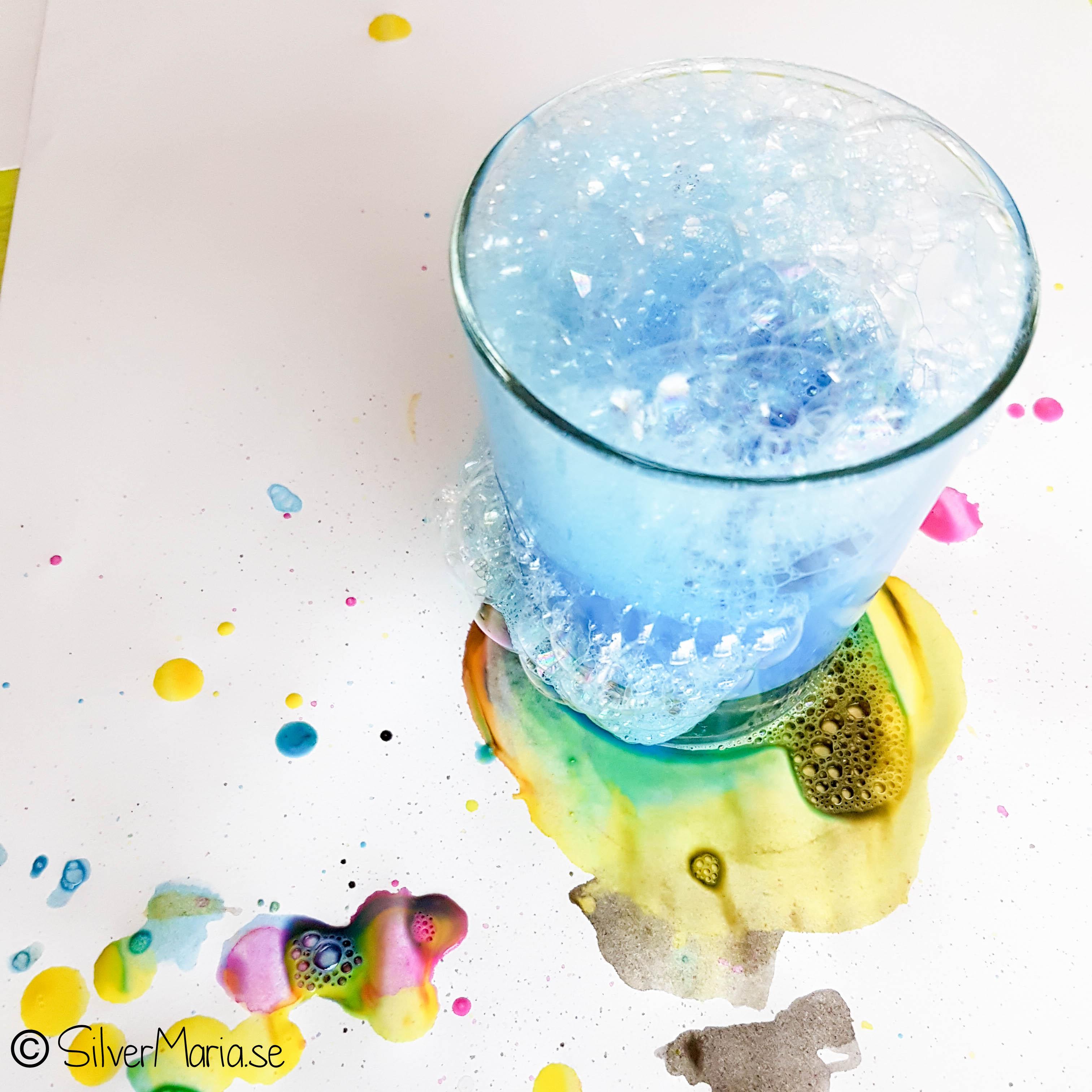 Bubbelmålning Silvermaria