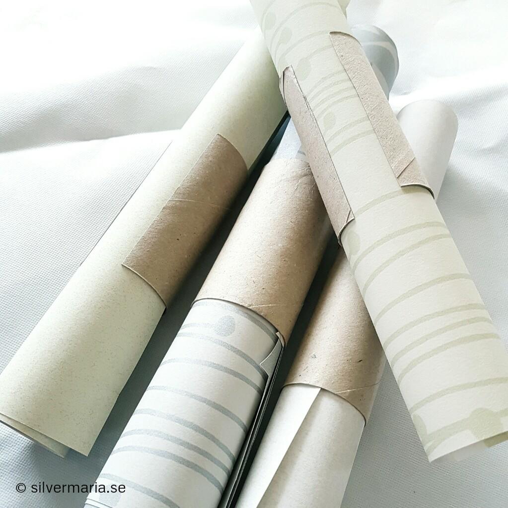 Smart förvaring presentpapper